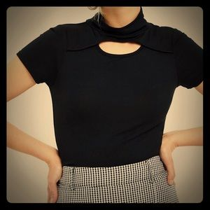 NWT Fitted PacSun Choker Top.